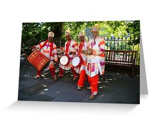 Country Boys Tassa Group Greeting Card