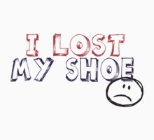 I lost my shoe One Piece - Short Sleeve