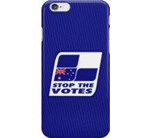Stop The Votes iPhone Case/Skin