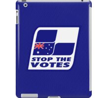 Stop The Votes iPad Case/Skin