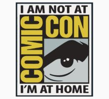 Not At Comic Con... by TheDoctorOfWho