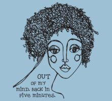 out of my mind oneliner shirt by denthe
