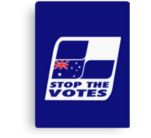 Stop The Votes Canvas Print