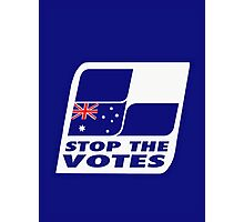 Stop The Votes Photographic Print