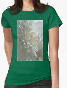 Chrysanthemum Textures Womens Fitted T-Shirt