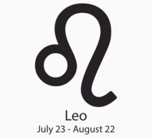 Zodiac sign Leo July 23 - August 22 by Adrian Bud