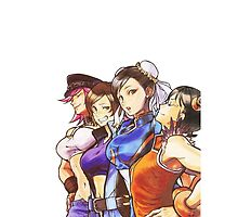 Street Fighter X Tekken Ladies by beechris