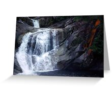 Top End of Josephine Falls, FNQ, AU Greeting Card