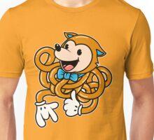 Orange Noodle Fox Unisex T-Shirt