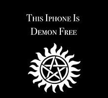 This iPhone is Demon Free by Caitlin Jacobs