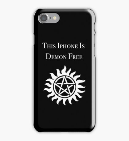 This iPhone is Demon Free iPhone Case/Skin