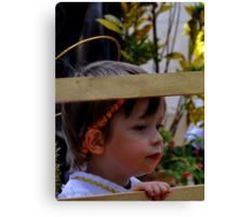 Cuenca Kids 295 Canvas Print