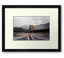 Chris Froome - Tour de France Champion Framed Print