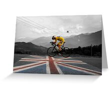 Chris Froome - Tour de France Champion Greeting Card