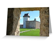 medieval Castle     Greeting Card