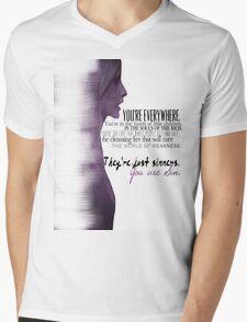 The First Evil Mens V-Neck T-Shirt