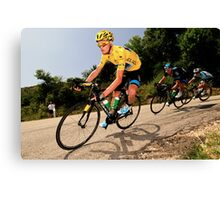 Chris Froome Canvas Print