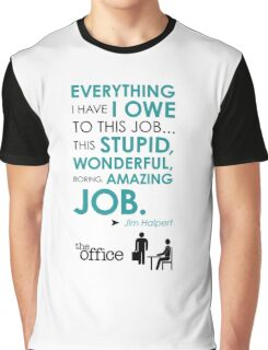 The Office Finale -- Jim Graphic T-Shirt