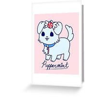 Sweet Treat Friends - Puppermint the Dog Greeting Card