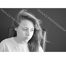 PROFESSIONAL PHOTOGRAPHER IN THE STUDIO Photographic Print