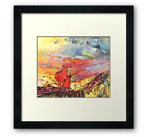 Sierra Sunset Framed Print