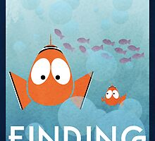 Finding Nemo  by SamFisher17