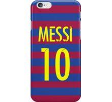 Messi jersey iPhone Case/Skin