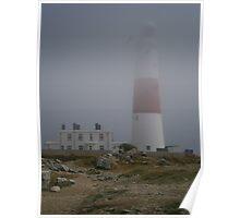 shrouded in sea fog Poster