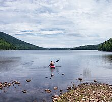 Jordan Pond Kayak by kudzu