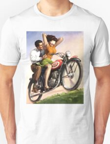 Motorcycle Thrill Ride Unisex T-Shirt