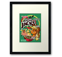 Apple Jacks - Honestly Delicious! Framed Print