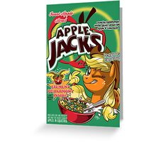 Apple Jacks - Honestly Delicious! Greeting Card
