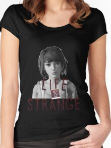 Life is Strange Max Women's Fitted Scoop T-Shirt