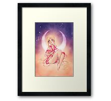 Moon Princess Framed Print