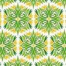 green flower by heydenrijk