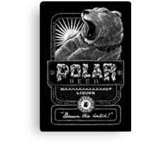 Polar Beer Canvas Print