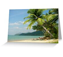 Bahamas Beach Bliss Greeting Card
