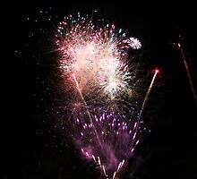 Fireworks @ Tivoli Gardens, Copenhagen by Julie Paterson