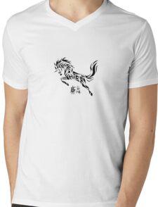 Unicorn Mens V-Neck T-Shirt