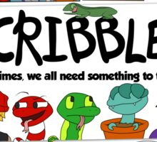 Scribbles Mashup! Sticker