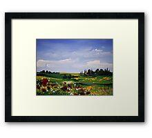 Countryside Splendor Framed Print