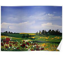 Countryside Splendor Poster