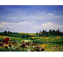 Countryside Splendor Photographic Print