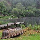Loch Ard Boathouse,Kinlochard,Scotland by Jim Wilson