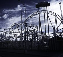 Coney Island Coaster by Kelly Wells