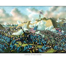 The Capture of Fort Fisher -- Civil War  by warishellstore