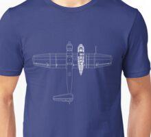 Blohm & Voss 141 (BV 141) Blueprint Unisex T-Shirt