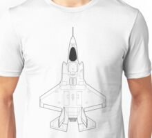 Lockheed F-35B Lightning II (Blueprint) Unisex T-Shirt