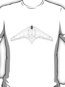 Gotha/Horten 229 Flying Wing Blueprint T-Shirt