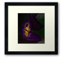 Momma Dragon Framed Print